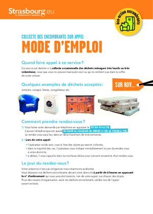 A4 courrier encombrants 2