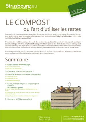 Composter guide